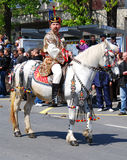 парад Румыния juni brasov Стоковое Изображение