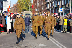парад случая независимости дня Стоковое Изображение