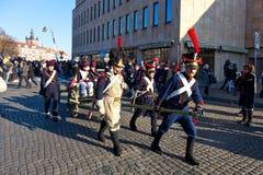 парад случая независимости дня Стоковая Фотография RF