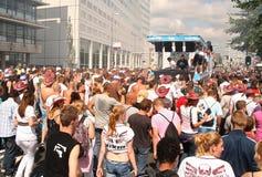 парад танцульки Стоковое Изображение