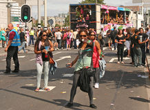 парад танцульки Стоковое Изображение RF