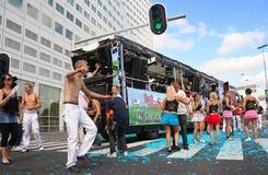 парад танцульки Стоковое Фото