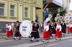 Парад торжества 2011 песни и танцульки Стоковые Изображения