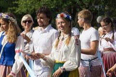 Парад торжества 2011 песни и танцульки Стоковое Фото