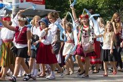 Парад торжества 2011 песни и танцульки Стоковое фото RF