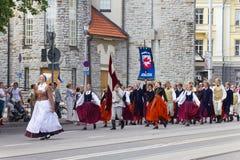Парад торжества 2011 песни и танцульки Стоковые Изображения RF