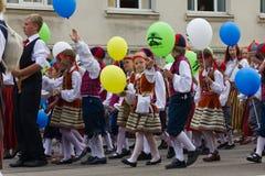 Парад торжества 2011 песни и танцульки Стоковая Фотография