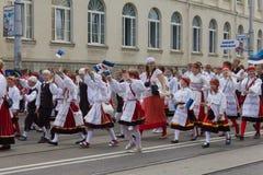 Парад торжества 2011 песни и танцульки Стоковое Изображение RF