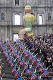 Парад через Макао, латинский город 2012 Стоковое Изображение