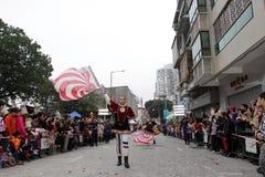 Парад через Макао, латинский город 2012 Стоковое фото RF