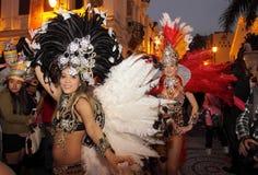 Парад через Макао, латинский город 2012 Стоковые Изображения RF