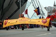 парад 2008 claus santa Стоковое Фото