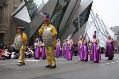 парад 2008 claus santa Стоковые Изображения