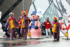 парад 2008 claus santa Стоковые Фото