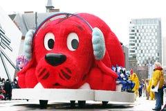 парад 2008 claus santa Стоковое Изображение RF