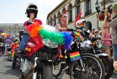 парад europride Стоковое Фото