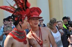 парад europride Стоковые Фото