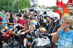 парад europride Стоковые Фотографии RF