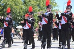 парад portland в июне празднества 12 ежегодников поднял Стоковая Фотография RF
