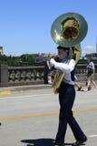 парад portland в июне празднества 12 ежегодников поднял Стоковое Фото