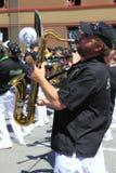 парад portland в июне празднества 12 ежегодников поднял Стоковое фото RF