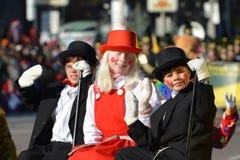 Парад Santa Claus Торонто 108th Стоковые Изображения RF