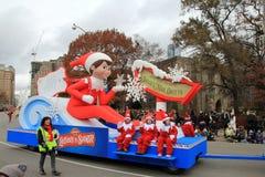парад toronto рождества Стоковое Изображение RF