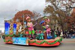 парад toronto рождества Стоковое Фото