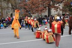 парад toronto рождества Стоковая Фотография