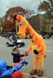 парад toronto рождества Стоковая Фотография RF