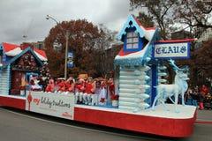 парад toronto рождества Стоковое фото RF