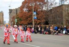 парад toronto рождества Стоковые Изображения