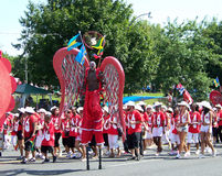 парад toronto caribana Стоковые Фотографии RF