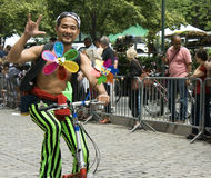 парад york танцульки города новый Стоковое фото RF