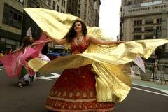 парад york танцульки новый Стоковое Фото