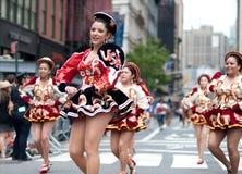 парад york 2010 танцек новый Стоковое фото RF