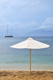 парасоль пляжа Стоковые Фото