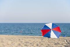 парасоль пляжа Стоковая Фотография RF