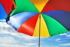парасоль пляжа Стоковая Фотография