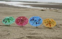 парасоль пляжа 4 Стоковое Изображение RF