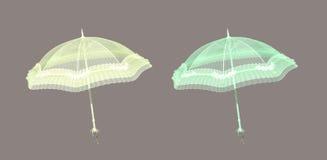 парасоль иллюстрация штока