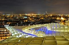 Парасоль Metropol в Севил, Испании Стоковое фото RF