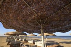 парасоль пляжа Стоковые Фотографии RF