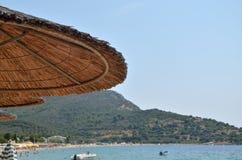 парасоль пляжа Стоковое Изображение
