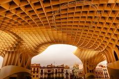 Парасоль Севилья Андалусия Испания Metropol грибов Стоковые Фото