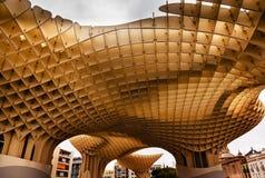 Парасоль Севилья Андалусия Испания Metropol грибов Стоковое Изображение RF