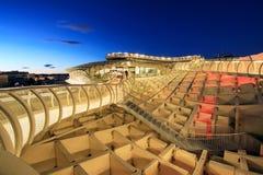 Парасоль Metropol в Площади de Ла Encarnacion, Севилье, Испании Стоковое Фото