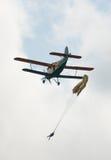 Парашютировать или skydiving Стоковые Изображения
