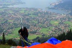 парашютировать Стоковое Изображение