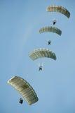 парашютисты Стоковые Фото
